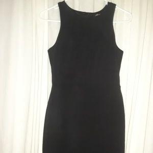 Black Monteau dress